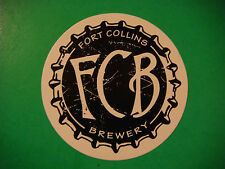 STICKER Beer ~ FORT COLLINS Brewery ~ COLORADO Craft Brewery Established in 2003