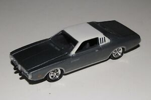 JOHNNY LIGHTNING 1973 DODGE CHARGER, SILVER-GRAY, 1:64, EXCELLENT