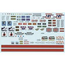 AMT 1/25 Big Rig Trucking Graphics Decals MKA022/12