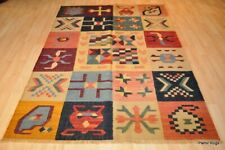 Kilim rug 5x7 contemporary One of a Kind Keilem handmade oriental, colorful