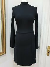 French Connection Saphira Beau Jersey High Neck Dress Size 10 Current Season