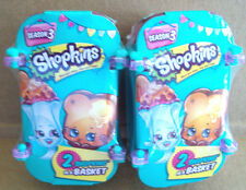 SHOPKINS SEASON 3 LIMITED EDITION COOL JEWEL 2 SHOPKINS IN BASKET (2 SETS)