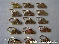 12 E TRACK RINGS enclosed CARGO box VAN TRUCK TRAILER