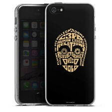 Apple iPhone 5 Silikon Hülle Case - C3PO Typo