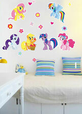 HOT 2016!!! My Little Pony Wall Sticker Removable Vinyl Art Decal Kids Decor