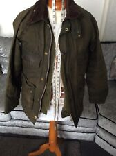 BARBOUR BEDALE WAX Jacket - C36/91CM - Green- Great Condition - Mens