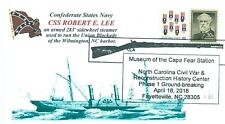 CSS ROBERT E. LEE Confederate Blockade Runnner Ship Ironclad Naval Pictorial