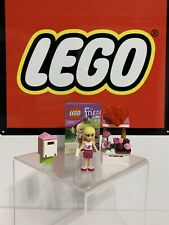 LEGO FRIENDS 30105 STEPHANIE'S VALENTINE MAILBOX POLYBAG USED 100% COMPLETE