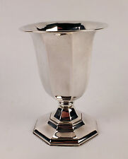 Splendid German Art Deco Solid Silver Vase or Beaker c1920/25