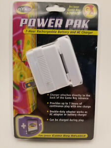 Nyko Power Pak Game Boy Advance Rechargeable Battery And AC Charger