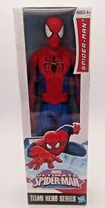 "Brand New Spider-Man Marvel Ultimate Titan Hero Series Action Figure! 12"""