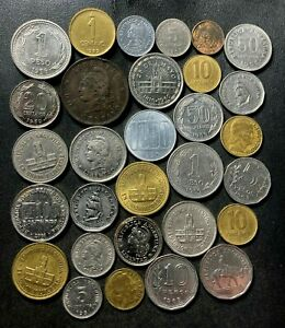 Old Argentina Coin Lot - 1890-Present - 29 Great Coins - Lot #L27