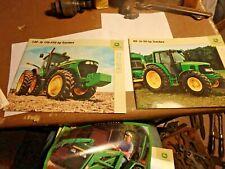 GGG -bundle of JOHN DEERE items- 5 brochures-dealer items