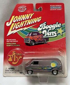 """Johnny Lightning Boogie Vans 1975 Dodge D-100 """"Super Fly"""" NEW"""