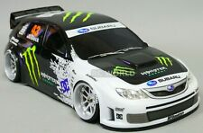 1/10 RC Car BODY Shell SUBARU IMPREZA STI Ken Block Drift MONSTER 190mm Body