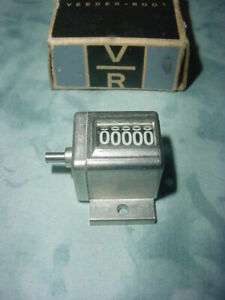 Veeder-Root  Miniature Mechanical Number Counter PN# A-114135 5 Digit *NEW*