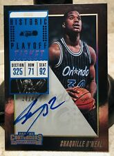18-19 Panini Shaquille O'Neal Contenders Historic Rookie Ticket AUTO SP #37/49!!