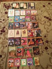 Huge Lot American Girl 34 Books 3 DVDs The Care & Keeping of You Friends Fitness