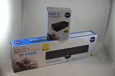 2 TV Signal Antenna HDTV + 1 Amplifier Open, ULTRA THIN clear indoor cleartv, TV
