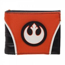 Star Wars Rebel Alliance Wallet Bifold PU Rogue One Orange Offcially Licensed