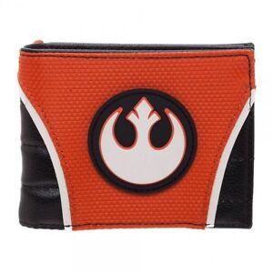 Rebel Alliance Wallet Star Wars Bifold PU Rogue One Orange Offcially Licensed