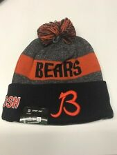 Chicago Bears Knit On Field New Era Toque Beanie Player Sideline Hat Cap NFL