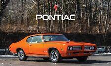 "1969 Pontiac Gto ""The Judge"" 3'X5' Vinyl Banner Garage Ram Air American Muscle"