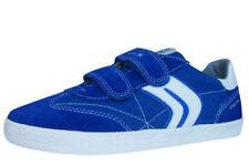 Scarpe Geox blu con tela per bambini dai 2 ai 16 anni