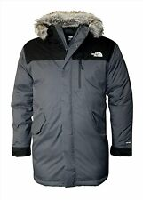 The North Face Bedford Men's Sz L Down Parka Warm Insulated Gray Winter Jacket