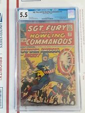 SGT. FURY AND HIS HOWLING COMMANDOS 13 CGC 5.5