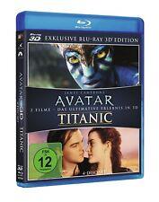 Avatar und Titanic auf 3d Blu-ray exklusive Edition