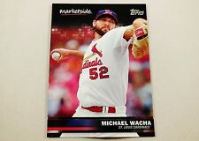 2016 Topps Wal-Mart Marketplace Baseball Card Michael Wacha St. Louis Cardinals