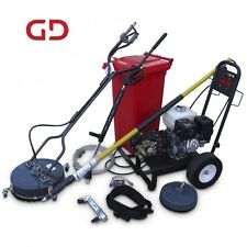 """Tuffi Pressure Washer with 18"""" Rotary Hard Surface & 24-ft Gutter Cleaning Kits"""