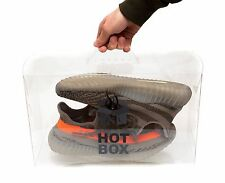 Transparent Sneaker Storage Display Box with Handle The Hot Box