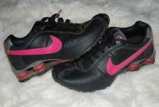 Women's Nike Shox Classic II Black/Pink Running Shoes (10)