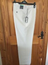 Mark & Spencer Collection- Male Trouser Flat Front Regular Fit W42 Long