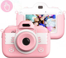 Kids Digital Camera Childrens Camera, Vannico Touch Screen Video Photo Pink