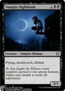 Vampire Nighthawk Uncommon Mint MTG Card :: :: Strixhaven Commander Decks 2021 :