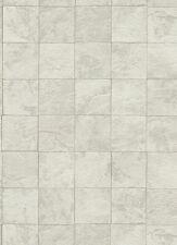 Vlies Tapete Erismann Authentic 6825-02 Fliesen Optik Stein grau weiß creme