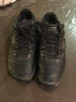 Puma Size 9.5 Black Leather G, Vilas