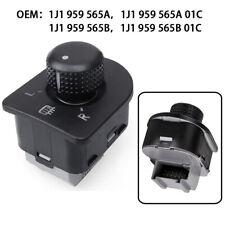 Side Mirror Control Switch Knob Right Hand For VW Beetle Passat B5 Golf Bora