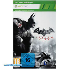 XBox 360 Batman Arkham City - DOWNLOAD CODE - TOP