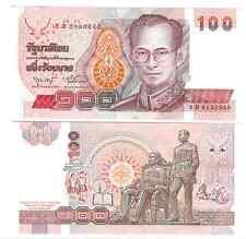 THAILAND 100 BAHT 1994 SIGN 75 UNC P 97