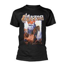 Black Saxon Crusader Official Tee T-Shirt Mens