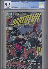 Daredevil #297 CGC 9.6 Marvel 1983 : Typhoid Mary Cover!  NEW FRAME