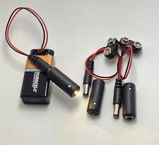 3 pcs Micro Effects Light Warm White LED Scenery w/ 9 volt clips MEL-WW1-9V-3P