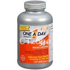 200 One A Day Women's 50 + Healthy Advantage Multivitamin 1 Daily Vitamin 200 ct