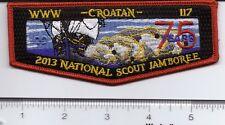 OA (BSA) Croatan Lodge #117 - 2013 National Jamboree Flap