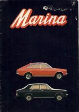 Morris Marina Series 1 1971-72 French Market Sales Brochure 1.3 1.8 SDL TC