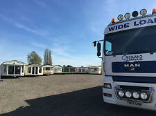 Temporary accomodation Static caravans Self build FREE DELIVERY winterised stock
